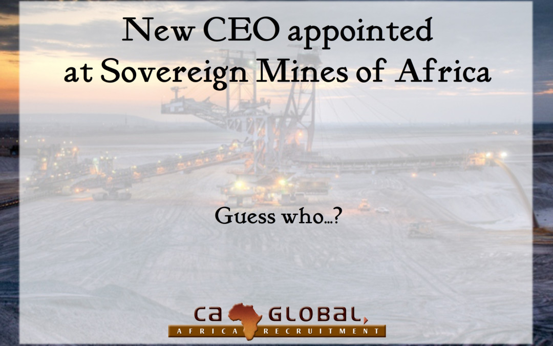 New CEO appointed at Sovereign Mines of Africa
