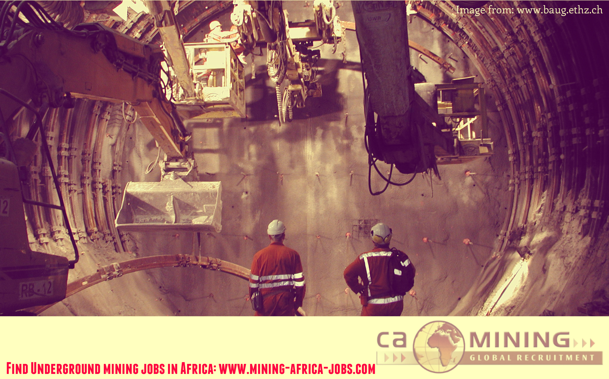 Underground Mining Jobs in Africa, CA Mining Recruitment Projects in DRC, Ghana, South Africa
