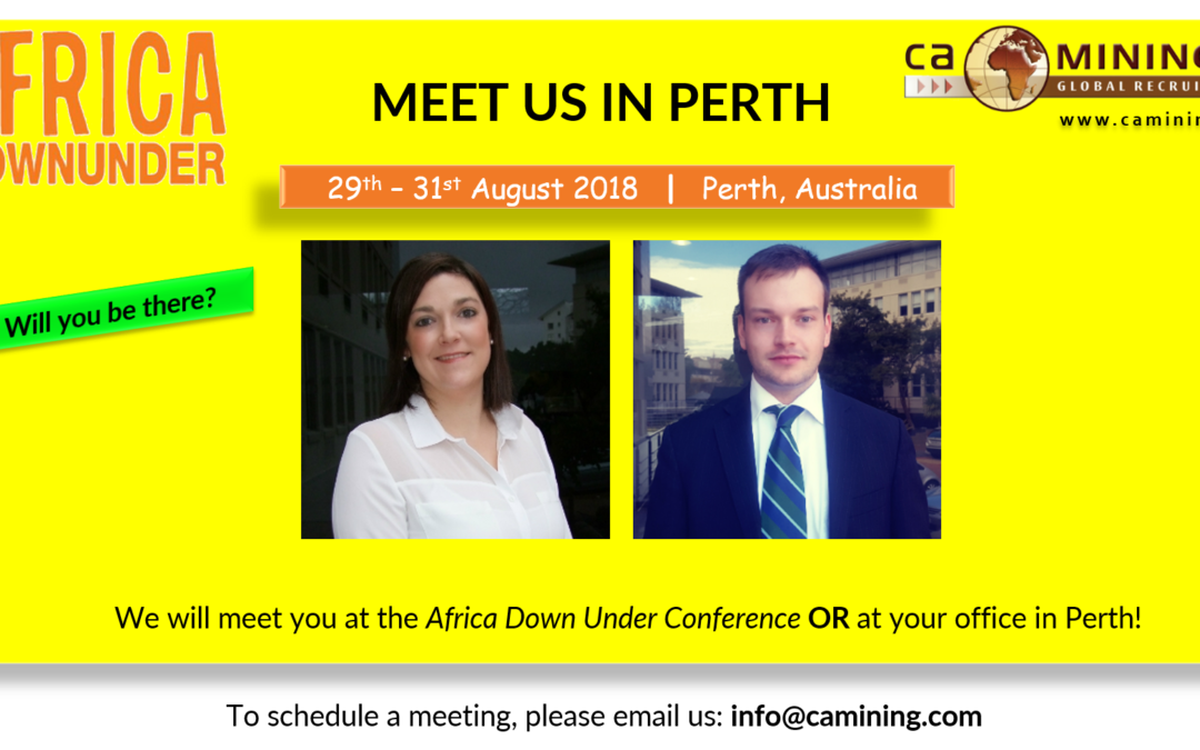 Meet CA Mining in Perth, Australia!