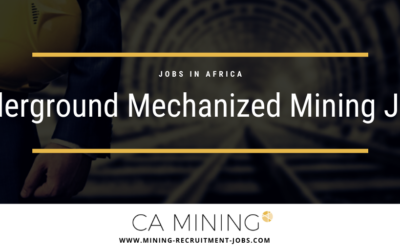 Underground Mechanized Mining: Jobs in Africa